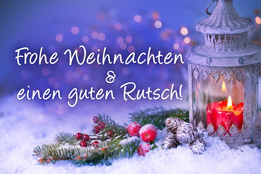 Weihnachtskarte – Frohe Weihnachten und einen guten Rutsch! | Taiji ...